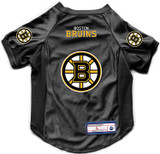 Boston Bruins Dog Deluxe Stretch Jersey Big Dog Size