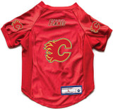 Calgary Flames Dog Deluxe Stretch Jersey Big Dog Size