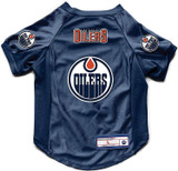 Edmonton Oilers Dog Deluxe Stretch Jersey Big Dog Size
