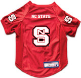 NC State Wolfpack Dog Deluxe Stretch Jersey Big Dog Size