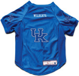 Kentucky Wildcats Dog Deluxe Stretch Jersey Big Dog Size