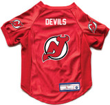 New Jersey Devils Dog Deluxe Stretch Jersey Big Dog Size