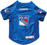 New York Rangers Dog Deluxe Stretch Jersey Big Dog Size