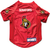 Ottawa Senators Dog Deluxe Stretch Jersey Big Dog Size