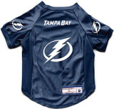 Tampa Bay Lightning Dog Deluxe Stretch Jersey Big Dog Size