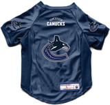 Vancouver Canucks Dog Deluxe Stretch Jersey Big Dog Size