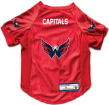 Washington Capitals Dog Deluxe Stretch Jersey Big Dog Size