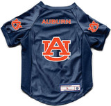Auburn Tigers Dog Deluxe Stretch Jersey Big Dog Size