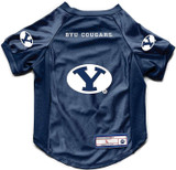 BYU Cougars Dog Deluxe Stretch Jersey Big Dog Size