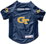Georgia Tech Yellow Jackets Dog Deluxe Stretch Jersey Big Dog Size
