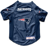 New England Patriots Dog Deluxe Stretch Jersey Big Dog