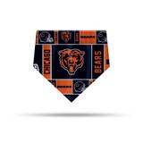 Chicago Bears Dog Cat Bandana Premium Over Collar