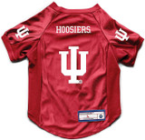 Indiana Hoosiers Dog Deluxe Stretch Jersey Big Dog Size