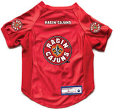 Louisiana Lafayette Ragin Cajuns Dog Deluxe Stretch Jersey Big Dog Size