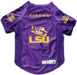 Louisiana State LSU Tigers Dog Deluxe Stretch Jersey Big Dog Size