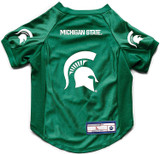 Michigan State Spartans Dog Deluxe Stretch Jersey Big Dog Size