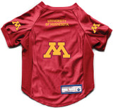 Minnesota Golden Gophers Dog Deluxe Stretch Jersey Big Dog Size