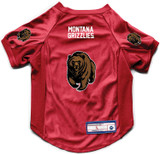 Montana Grizzlies Dog Deluxe Stretch Jersey Big Dog Size