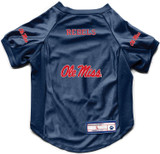 Mississippi Ole Miss Rebels Dog Deluxe Stretch Jersey Big Dog Size