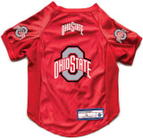 Ohio State Buckeyes Dog Deluxe Stretch Jersey Big Dog Size