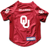 Oklahoma Sooners Dog Deluxe Stretch Jersey Big Dog Size