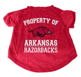 Arkansas Razorbacks Dog Cat T-Shirt Premium Tagless Tee