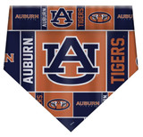 Auburn Tigers Dog Cat Bandana Premium Over Collar