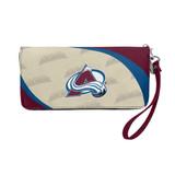 Colorado Avalanche Curve Zip Organizer Wallet Wristlet