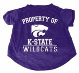 Kansas State Wildcats Dog Cat T-Shirt Premium Tagless Tee