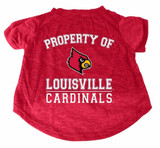 Louisville Cardinals Dog Cat T-Shirt Premium Tagless Tee