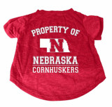 Nebraska Huskers Dog Cat T-Shirt Premium Tagless Tee
