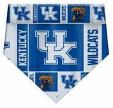 Kentucky Wildcats Dog Cat Bandana Premium Over Collar