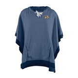 Nashville Predators Heather Hoodie Poncho Ladies One Size