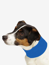 Cooling Insect Shield Dog Pet Neck Gaiter Scarf Bug Protection Blue