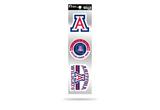 Arizona Wildcats 3pc Retro Spirit Decals Premium Throwback Stickers