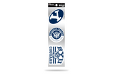 Brigham Young BYU Cougars 3pc Retro Spirit Decals Premium Throwback Stickers