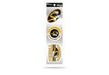 Missouri Tigers 3pc Retro Spirit Decals Premium Throwback Stickers