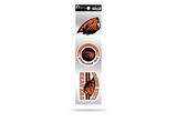Oregon State Beavers 3pc Retro Spirit Decals Premium Throwback Stickers