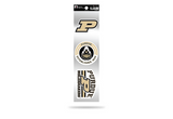 Purdue Boilermakers 3pc Retro Spirit Decals Premium Throwback Stickers