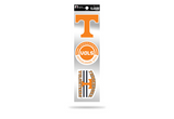 Tennessee Vols Volunteers 3pc Retro Spirit Decals Premium Throwback Stickers