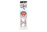 Virginia Cavaliers 3pc Retro Spirit Decals Premium Throwback Stickers