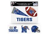 Memphis Tigers Removable Wall Decor 6pc Set Premium Decals