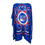 New York Rangers Two-Sided Sheer Caftan One Size