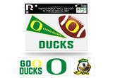 Oregon Ducks Removable Wall Decor 6pc Set Premium Decals