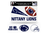 Penn State Nittany Lions Removable Wall Decor 6pc Set Premium Decals