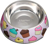 Fresh Cupcakes Easy Feeder Dog Cat Food Water Bowl