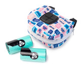 What The Poop Dispenser Bag Attach To Dog Leash Plus Bag Rolls