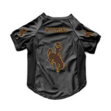 Wyoming Cowboys Dog Deluxe Stretch Jersey Big Dog Size