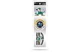 Notre Dame Fighting Irish 3pc Retro Spirit Decals Premium Throwback Stickers