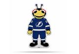 Tampa Bay Lightning Mascot Pennant Fanion Premium Shape Cut ThunderBug